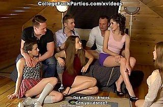 anal, blonde, blowjob, brunette, in college, heels, leggy, hornylesbo
