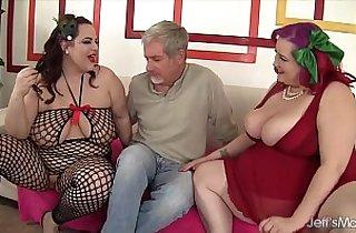 3some fuck, BBW, fatty, hardcore sex, hubby xxx, plump, wife shared