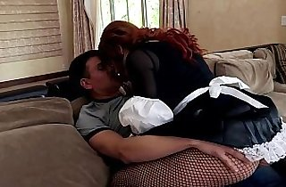 fishnets, hornylesbo, lingerie, pantyhose, redheads