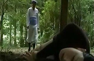 ass, japaneses, outdoor, public place, school sex, schoolgirls, seduction