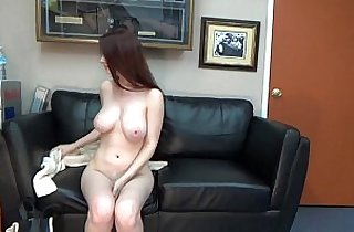 anal, ass, boobs, brunette, casting, tits, in college, creampies