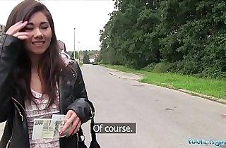 amateur sex, asians, cream, cumshots, money, outdoor, POV, public place