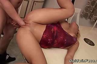 anal, asian babe, ass, Big Dicks, blonde, busty asian, cream, cumshots