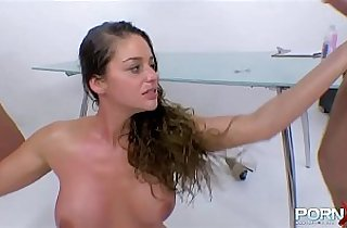 3some fuck, anal, ass, boobs, tits, fisted, Giant boob, giant titties