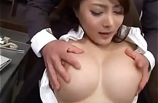 blowjob, tits, giant titties, stockings,
